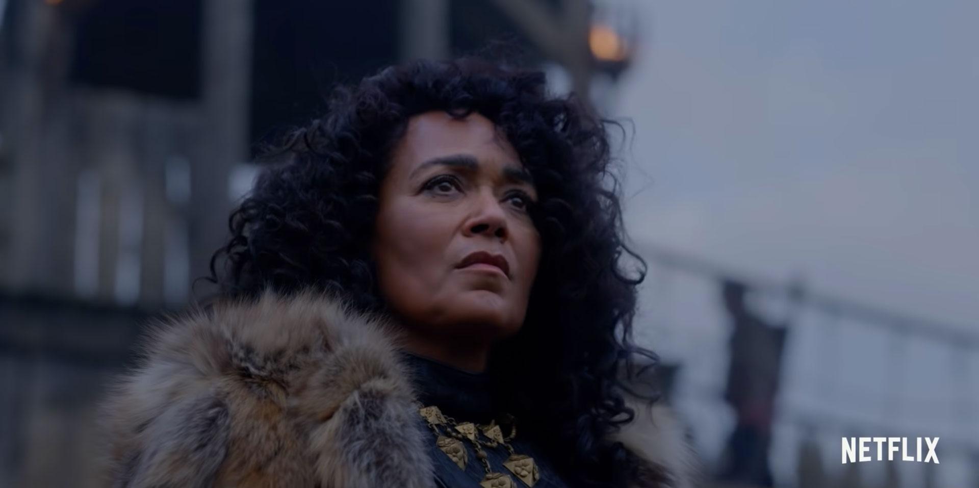 Caroline Henderson som Jarl Haakon i Vikings: Valhalla